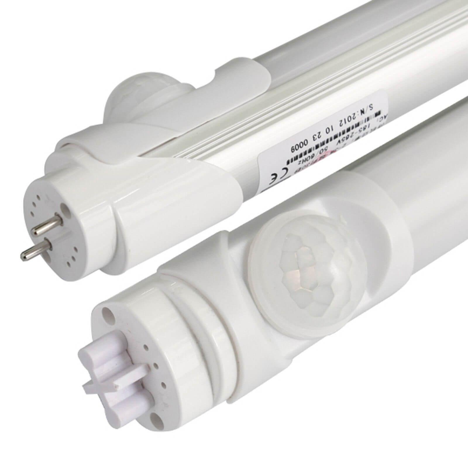 Светодиодное освещение лампами т8