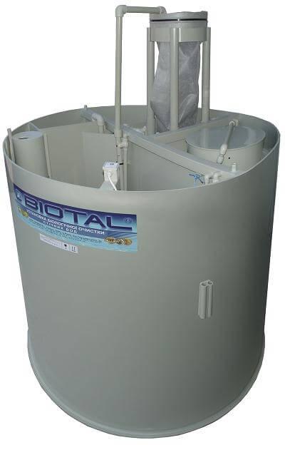 установка для технологии биотал