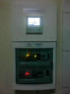 фото управляющий контроллер и блок автоматики