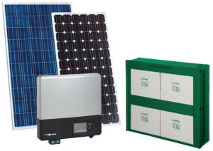 Система солнечного электроснабжения - комплект