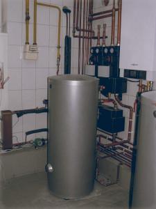 Фото комбинированной системы отопления с проектом