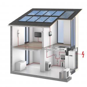 Система солнечного электроснабжения