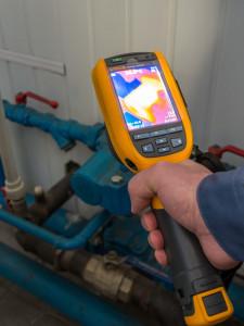 тепловизор для энергоэффективной реконструкции системы отопления