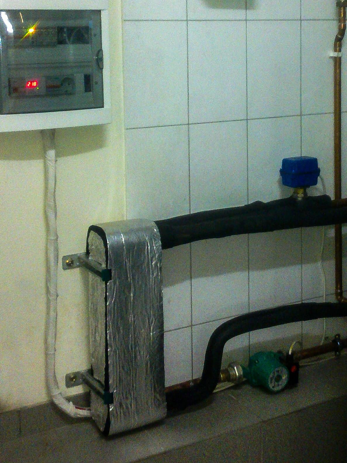 Водяное отопление частного дома своими руками: схемы и советы 80