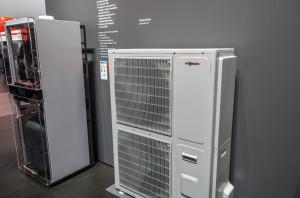 воздушный тепловой насос для комбинированного отопления