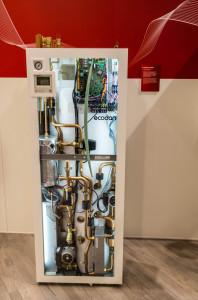 заводской гидромодуль для теплового насоса воздух-вода