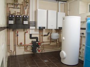 Фото системы отопления в сборе