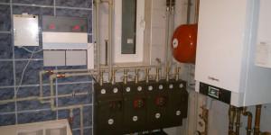 Газовый котел и насосные группы