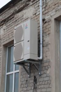 Внешний блок теплового насоса воздух-воздух