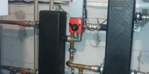 Гидравлические разделители теплового насоса и газового котла