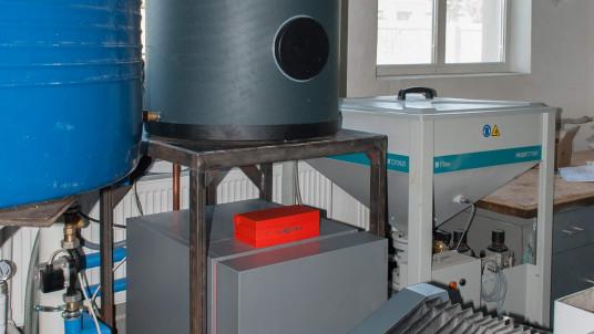 Тепловой насос вода-вода с бойлером