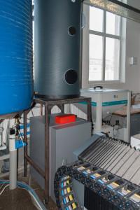 Тепловой насос вода-вода с емкостью для горячей воды